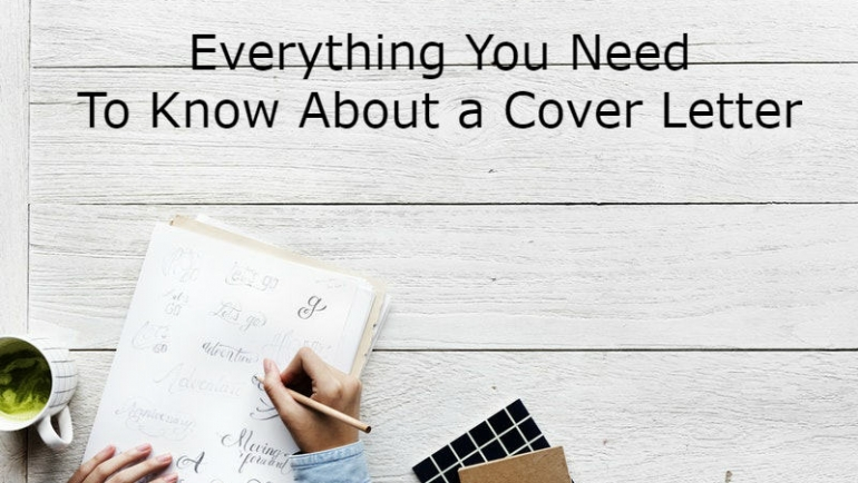 All You Must-Know About Cover Letters